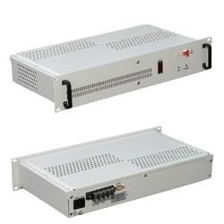 """ИБП постоянного тока """"Штиль"""" PS6010 19"""", 60 В, 10 A, импульсный источник, под АБ 5х7 А*ч"""