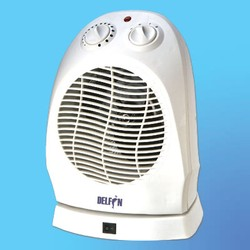 Тепловентилятор DELFIN HFTV-7Y (1000/2000 Вт) 4-х поз., поворотный, термостат, защита