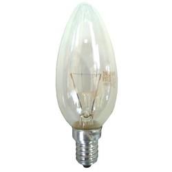 Лампа накаливания Philips Е14  60 Вт свеча, В35CL