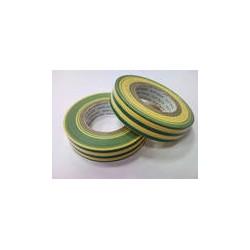 Изолента ПВХ 15х20 желто-зелёная