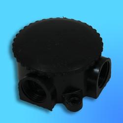 Коробка эл.монтажная ОП 3-х рожковая (КЭМ 1-10-3) малая