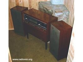 Стереофоническая радиола высшего класса ''Симфония 003'' разработана на основе предыдущей радиолы ''Симфонии.