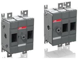 Инновация АББ: двухполюсный выключатель нагрузки постоянного тока на 1000 В