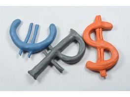15 января курс российского рубля снизится по отношению к ключевым валютам мира