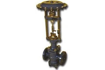 Клапан регулирующий двухседельный сильфонный с МИМ, импортного пр-ва