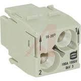 Han*100A module, обжимное соединение, Harting, цена - купить у Магазин КИМ / Приборы контроля технологических процессов в промышленности и энергетике / Маркет / Элек.ру