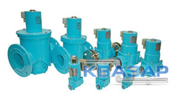 КГЭЗ-65-100-220-М клапан газовый электромагнитный