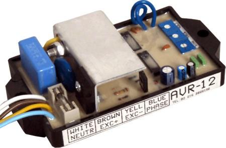 Автмоатический регулятор напряжения AVR-12, цена - купить у Эффективные технологии / Комплектующие изделия дизель-генераторов /