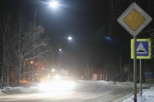 Светодиодные светильники на дорогах класса A1 и скоростных автомагистралях