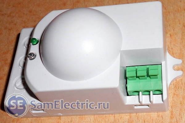 Микроволновый датчик движения — принцип работы и установка