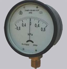 Тягонапоромер мембранный ТНМП-100-М1-Р