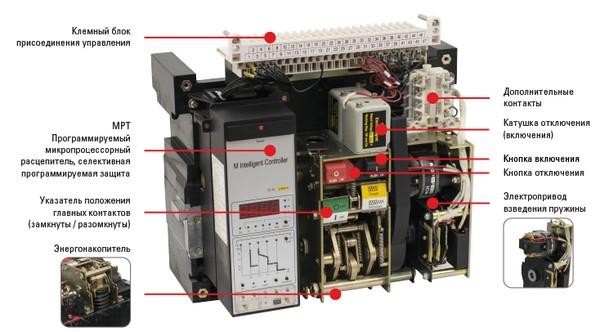 Структура и принципы работы автоматического выключателя ВА\u002D45 серии PROxima