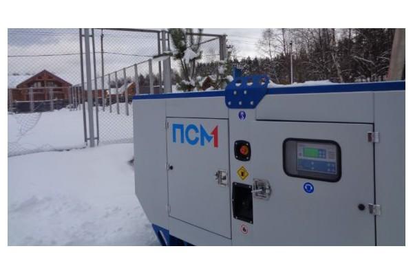 Компания «Техэкспо» поставила дизельный генератор для садоводческого товарищества в Ленобласти
