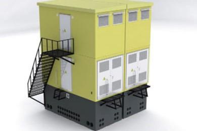 Двухэтажная БКТПБ 6(10)/0,4 кв Двухэтажная блочная комплектная трансформаторная подстанция в бетонной оболочке