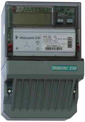 Меркурий 230 АR-02 CL 10-100А; 3*220/380В; 0,1/2,0  (цена от 4.728 руб. до 4.420 руб.)