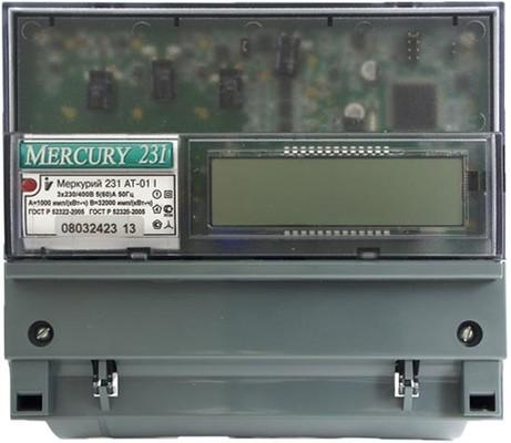 Меркурий 231АТ-01 I 5-60А; 3*220/380В; 1,0; ЖКИ (цена от 2.737 руб. до 2.523 руб.)