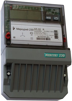 Меркурий 230 АR-02 R 10-100А; 3*220/380В; 1,0/2,0 (цена от 3.591 руб. до 3.357 руб.)