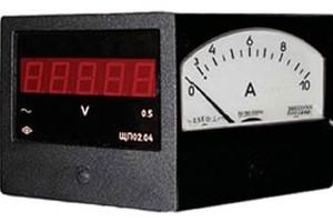 Цифровые электроизмерительные приборы на щитах управления энергопредприятий