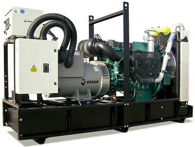 Дизель генератор Gesan DVA 700 E