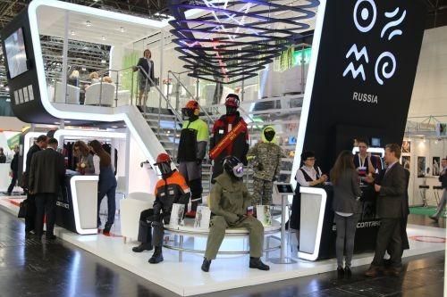Россия представила передовые СИЗ на международной выставке А+А