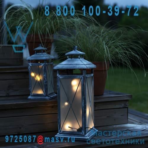 861 05 lanterne led 45 exterieur gris stallis xmas for Lanterne exterieur led