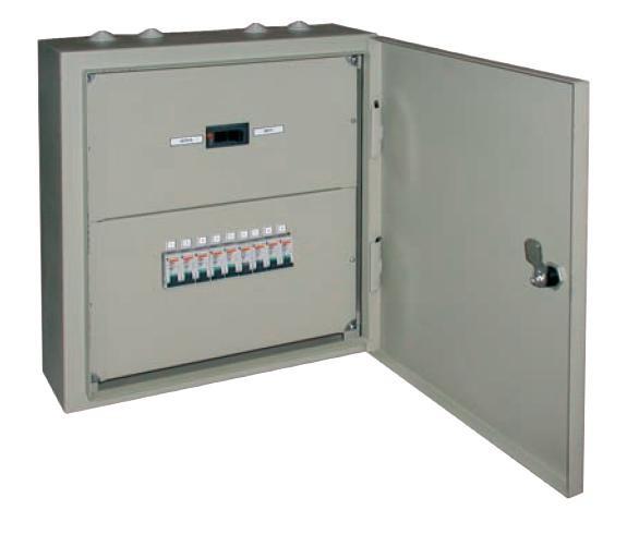 Щитки распределительные применяются в осветительных и силовых установках производственных, общественных...