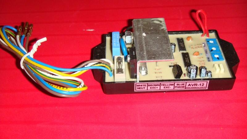 AVR-5 Alternator Voltage Regulator Данный регулятор является...