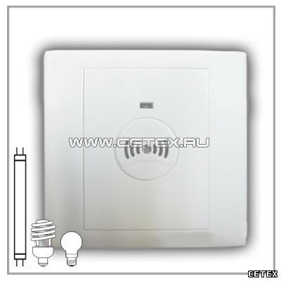 Выключатель для скрытой проводки ВА-15 энергосберегающий оптико-акустический для ламп накаливания...