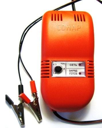 зарядные устройства для акб эхолота