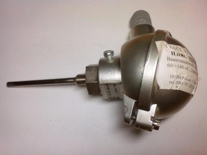 Продам Новый Датчик температуры с токовым преобразователем HBS 4000-E.  Датчик температуры Pt100 -5 ... +100C с...