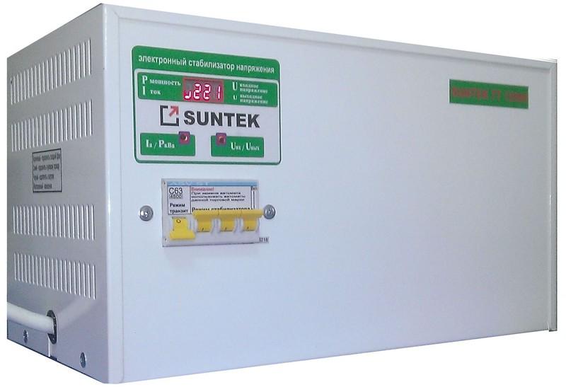 """Компания  """"Сантек """" выпускает на рынок тиристорные стабилизаторы напряжения SUNTEK российской сборки."""