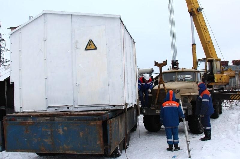 «Вологдаэнерго» доставило оборудование на ПС «Ява»