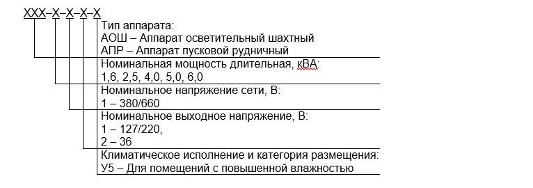 ОПИСАНИЕ Аппарат АОШ 4