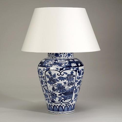 Настольная лампа своими руками из вазы