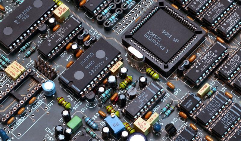 резисторы, микросхемы,