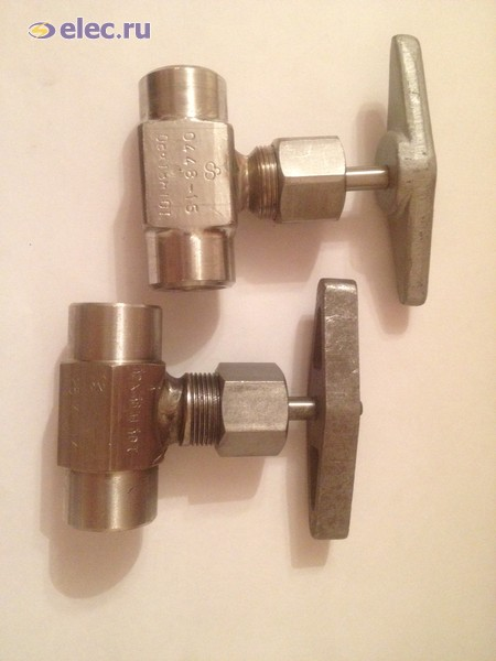 Клапан игольчатый ВНИЛ.491116.011-10