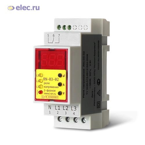 Реле контроля напряжения RBUZ / ZUBR D50