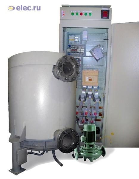 132Электрокотел отопления  видео