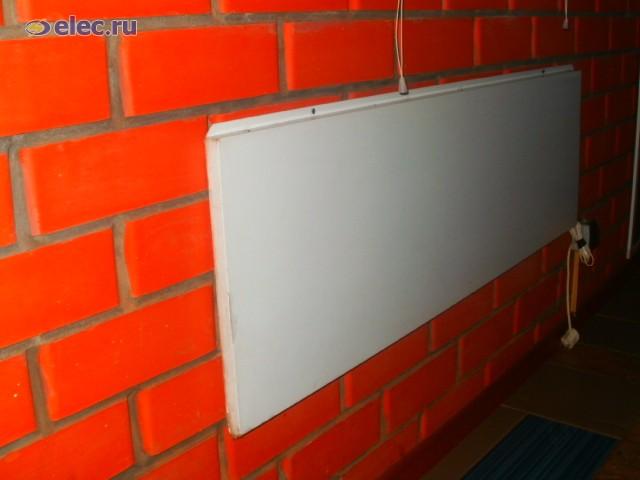 """Инфракрасный обогреватель для балкона, лоджии. - ооо """"элпром."""