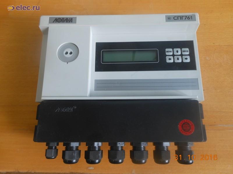 Электронный корректор количества (объема) газа СПГ761.01
