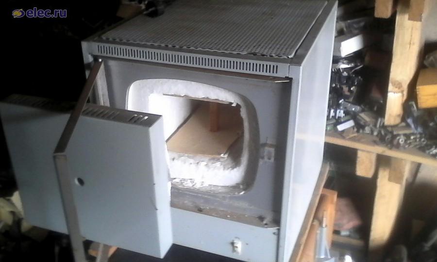 Печь муфельная электрическая