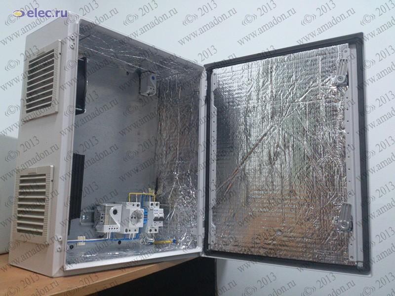 Термошкаф для оборудования связи своими руками 18