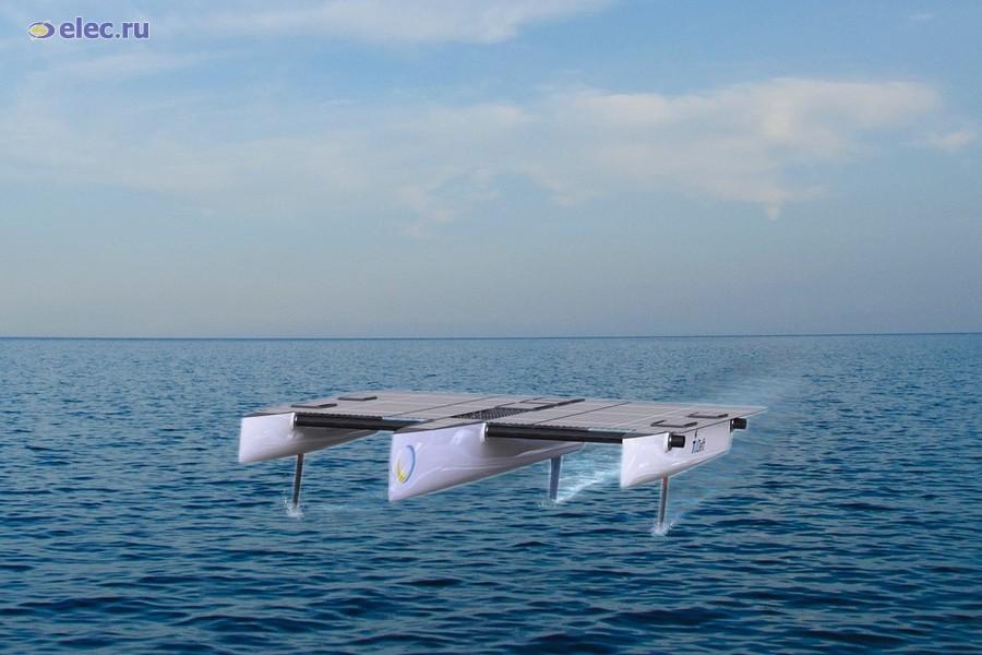 Для строительства голландской морской солнечной лодки применят гетероструктурные солнечные ячейки «Хевел»