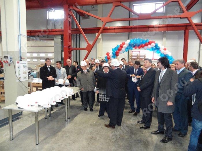 открытие завода EAE в городе Александров