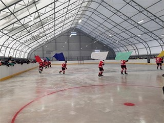Крытый хоккейный корт «Энергия»
