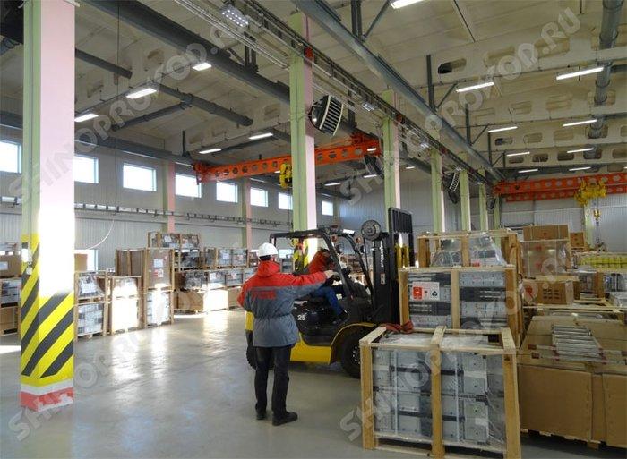 качественный шинопровод на складе компании ТОК