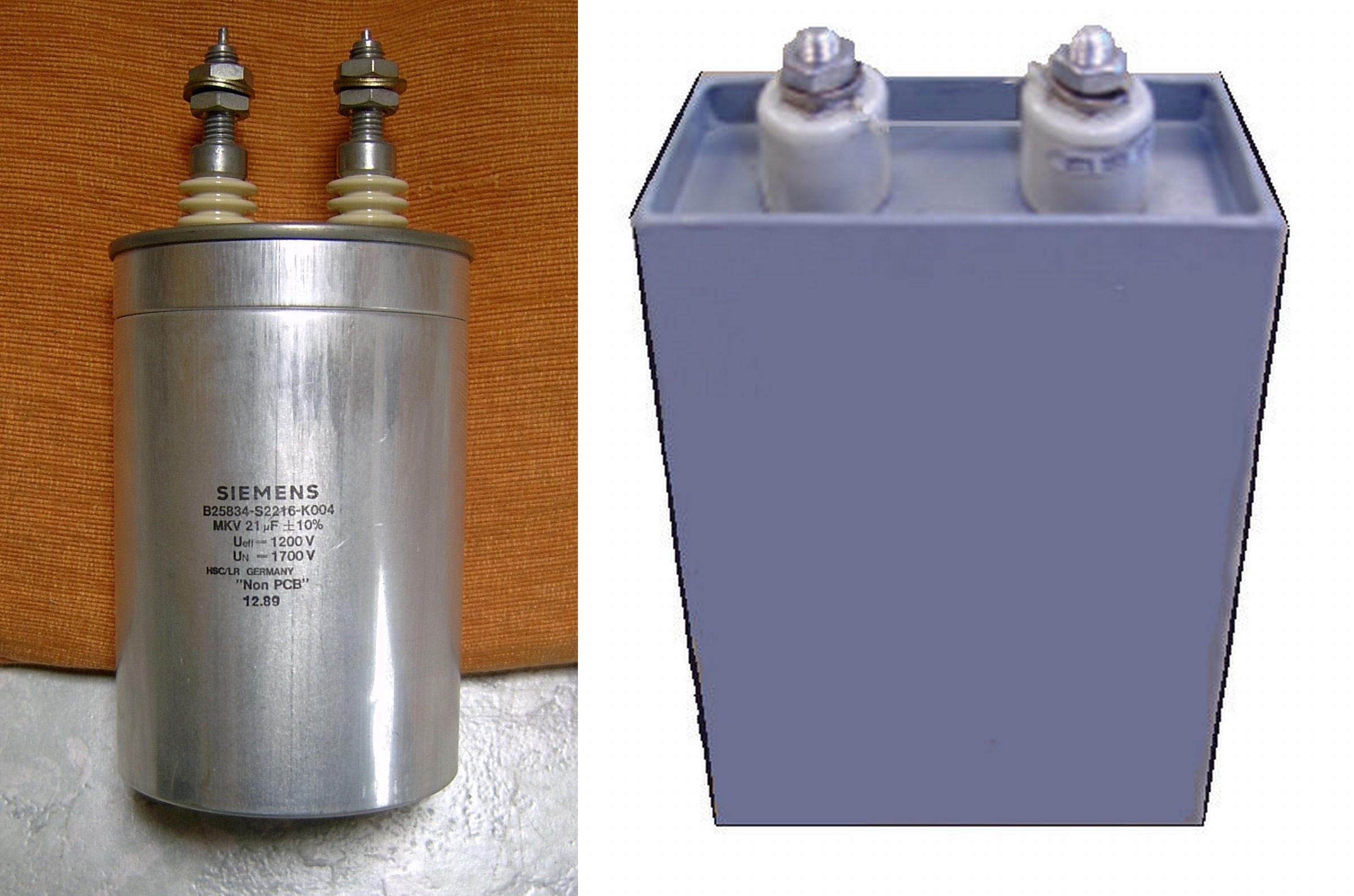 Компенсирующие конденсаторы