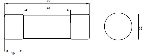 Габаритные размеры НПН2 ТМ TEXENERGO