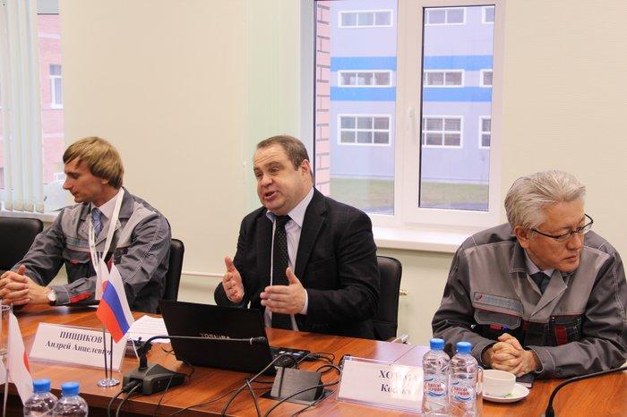 Генеральный директор завода А.Пищиков