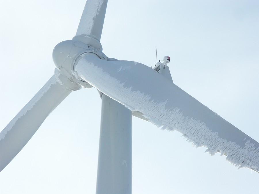 Обледенение лопастей ветрогенераторов